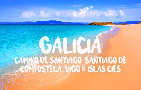 Galicia: Camino De Santiago, Vigo & Islands Cies, Trips